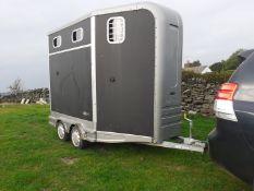 2013 EQUI TREK TRAIL TREKA HORSE BOX TRAILER, OVER £10800 WHEN NEW *PLUS VAT*