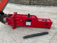 NEW AND UNUSED ES MANUFACTURING ESB00 ROCK BREAKER, SUITABLE FOR MINI DIGGER, 30mm PINS *NO VAT*