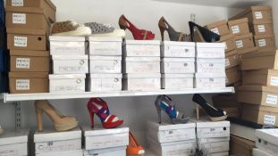 JOB LOT OF NEW SHOES DUE TO LIQUIDATION, APPROX 3000 PAIRS *NO VAT*