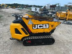 2019 JCB HTD-5 DIESEL TRACKED DUMPER, RUNS DRIVES AND DUMPS, 2 SPEED TRACKING, ELECTRIC START