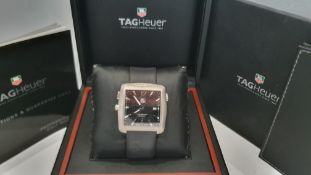 TAG HEUER GOLF TIGER WOODS LIMITED EDITION MENS WATCH, BOXED *NO VAT*