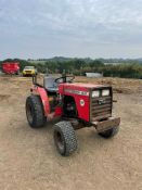 MASSEY FERGUSON 1010 COMPACT TRACTOR, 42 RECORDED HOURS, 3 POINT LINKAGE *NO VAT*