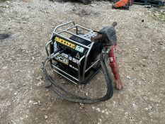 2016 JCB HYDRAULIC BEAVER PACK WITH GUN AND HOSES, RUSN AND WORKS, GOOD COMPRESSION *NO VAT*