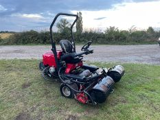 2014 BARONESS LM315GC 3WD CYLINDER MOWER WITH GRASS BOXES, RUNS DRIVES CUTS AND COLLECTS WELL