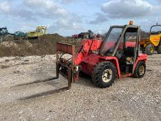 MANITOU MLT420 BUGGISCOPIC TELEHANDLER, RUNS DRIVES AND LIFTS, PIPED FOR FRONT ATTACHMENT *PLUS VAT*