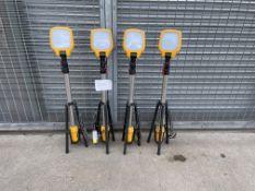 4 x DEFENDER 110v LED TASK LIGHTS, NO RESERVE *PLUS VAT*