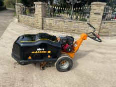 SISIS ARROW SELF PROPELLED PETROL AREATOR, RUNS AND DRIVES, BRIGGS AND STRATTON 10hp ENGINE*PLUS VAT