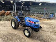 ISEKI TH4330 COMPACT TRACTOR, RUNS AND DRIVES, HYDROSTATIC, GRASS TYRES, 31hp, GOOD SEAT *PLUS VAT*