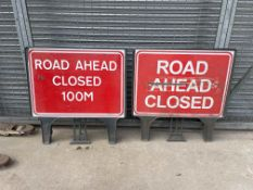 330 ROAD SIGNS IN TOTAL, SEE PICTURES FOR A LIST OF ALL SIGNS INCLUDED, NO RESERVE *PLUS VAT*