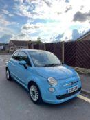 FIAT 500 LOUNGE BLUE HATCHBACK, SHOWING 66K MILES, TWN AIR START/STOP MODEL *NO VAT*