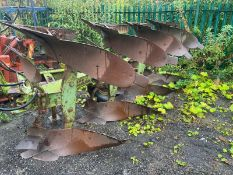 DOWDESWELL DP7C 4 FURROW REVERSIBLE PLOUGH, GOOD FURROWS, SUITABLE FOR 3 POINT LINKAGE *PLUS VAT*