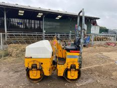 2002/51 TEREX BENFORD TV800KF TWIN DRUM ROLLER, RUNS DRIVES AND VIBRATES, 1338 HOURS *PLUS VAT*