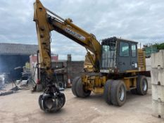 1999 SCRAP HANDLER WITH GRAB, STARTS GRABS AND LIFTS AS IT SHOULD *NO VAT*