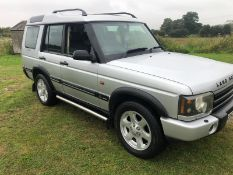 2002 LAND ROVER DISCOVERY TD5 ES AUTO SILVER 7 SEATER ESTATE, 2.5 DIESEL, 160K MILES *NO VAT*