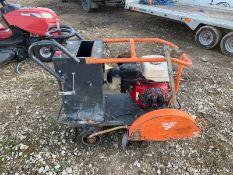 2013 CLIPPER / BELLER RANGER 450 FLOOR SAW, RUNS AND WORKS, HONDA PETROL ENGINE, NO BLADE *NO VAT*
