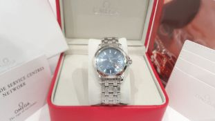 Omega Seamaster Professional 120m Wave Dial Mens Watch *NO VAT*