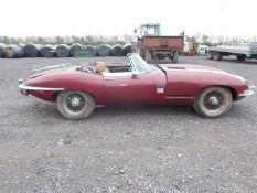 1969 (G) JAGUAR E TYPE SERIES 2 4.2 ROADSTER, 4 SPEED MANUAL, LEFT HAND DRIVE *NO VAT*