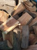 SEASONED PLUM WOOD LOGGS FOR BBQ / SMOKERS / PIZZA OVENS *NO VAT*