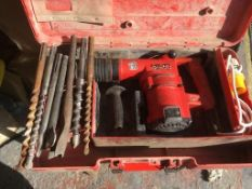 Hilti-TE72 Heavy Duty Drill and Breaker Hammer in Case *NO VAT*
