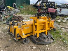 2017 JCB SC240 SWEEPER BUCKET, HYDRAULIC DRIVEN, SUITABLE FOR PALLET FORKS OR JCB QUICK HITCH