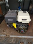 NEW AND UNUSED 15hp LIFAN LF420Q, SMALL BIT OF RUST ON THE SHAFT *NO VAT*