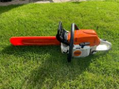"""2018 STIHL MS291 CHAINSAW, RUNS AND WORKS, 16"""" BAR AND CHAIN, BAR COVER IS INCLUDED *NO VAT*"""