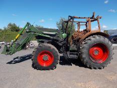 2020 FENDT 211 VARIO AGRICULTURAL TRACTOR, 3.3 LITRE 3 CYL DIESEL, FIRE DAMAGE TO CAB AREA *PLUS VAT