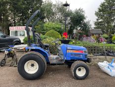 ISEKI TH4330 COMPACT TRACTOR, RUNS DRIVES AND WORKS, HYDROSTATIC, GRASS TYRES *PLUS VAT*
