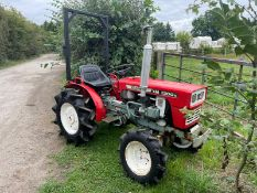 YANMAR YM1300D DIESEL COMPACT TRACTOR, RUNS DRIVES AND WORKS, A LOW 415 HOURS, 13hp *PLUS VAT*