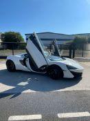 2016 MCLAREN 540C COUPE AUTO WHITE COUPE, 3.8 PETROL ENGINE, SHOWING 30K MILES *NO VAT*