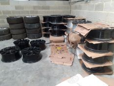 JOB LOT OF 30 SETS OF ALLOY WHEELS WITH TYRES, LAND ROVER RANGE ROVER, OVER £31K RRP *NO VAT*