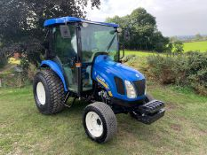 2010/60 NEW HOLLAND BOOMER 3050 COMPACT TRACTOR, RUNS AND DRIVES, FULLY GLASS CAB *PLUS VAT*