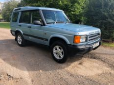 2001 LAND ROVER DISCOVERY TD5 S BLUE ESTATE, 179,174 MILES, 2.5 DIESEL ENGINE *NO VAT*