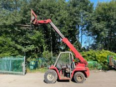 MANITOU BT420 BUGGY SCOPPIC TELEHANDLER, HYDRAULIC FROK POSITIONING, 4 METER REACH