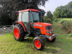 KUBOTA M6800 TRACTOR, RUNS DRIVES AND WORKS WELL, SHOWING A LOW 3414 HOURS *PLUS VAT*