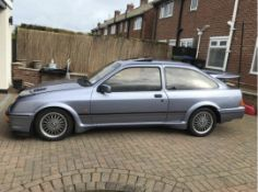 1987 FORD SIERRA RS COSWORTH 3 DOOR BLUE HATCHBACK, W/ FSH, 2.0 PETROL, EXCELLENT CONDITION *NO VAT*