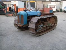 FORDSON COUNTY CRAWLER, FORDSON MAJOR DIESEL TRACTOR WITH THE COUNTY CRAWLER CONVERSION