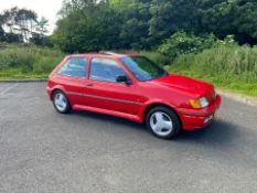 1992 FORD FIESTA XR2 I RED 3 DOOR HATCHBACK, 1.8 PETROL ENGINE, MANUAL 5 GEARS *NO VAT