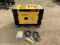 NEW AND UNUSED GENSET 12KvA HP10000N/W-3 DIESEL GENERATOR WELDER, 220 OR 380 VOLTS *PLUS VAT*