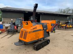 2016 FORST TR8 DIESEL TRACKED WOOD CHIPPER, RUNS DRIVES AND DIGS, SHOWING A LOW 675 HOURS *PLUS VAT*