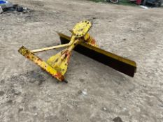 INDEPENDANCE SCRAPER / GRADER, SUITABLE FOR COMPACT TRACTOR, 3 POINT LINKAGE *PLUS VAT*