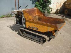 YAMAGUCHI WB510 TRACKED BARROW, 300kg CAPACITY, IN WOKRING ORDER, HONDA PETROL ENGINE *PLUS VAT*