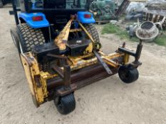 BLEC STONE RAKE, SUITABLE FOR COMPACT TRACTOR, 3 POINT LINKAGE, PTO DRIVEN *PLUS VAT*