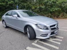 2013 MERCEDES-BENZ CLS250 CDI AMG BLUE-CY SPORT SILVER COUPE, 2.2 DIESEL, 45,952 MILES *NO VAT*