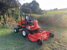 KUBOTA F3680 RIDE ON MOWER, RUNS DRIVES AND CUTS WELL, SHOWING A LOW 1918 HOURS *PLUS VAT*