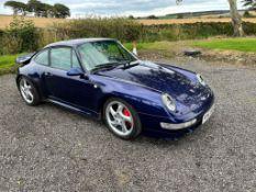 1996 PORSCHE 911 CARRERA 4 S BLUE SALOON, 141K MILES, 3600cc PETROL ENGINE *PLUS VAT*