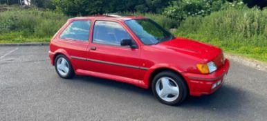 1992 FORD FIESTA XR2 I RED 3 DOOR HATCHBACK, 1.8 PETROL ENGINE, MANUAL 5 GEARS *NO VAT*