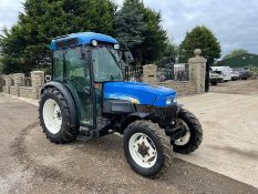 2005 NEW HOLLAND TN95NA TRACTOR, RUNS AND DRIVES, LINKAGE ARMS AND PTO WORK *PLUS VAT*
