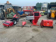 GOLDONI MULTI TOO BUNDLE, RUNS DRIVES AND WORKS WELL, PULL START, EX DEMO CONDITION *PLUS VAT*