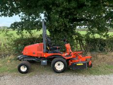 KUBOTA F2880 DIESEL RIDE ON MOWER, RUNS DRIVES AND CUTS, SHOWING A LOW 2640 HOURS *PLUS VAT*